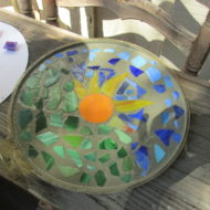 Fun Fall Projects; Garden Stepping Stones.