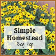 Simple Homestead Blog Hop #113