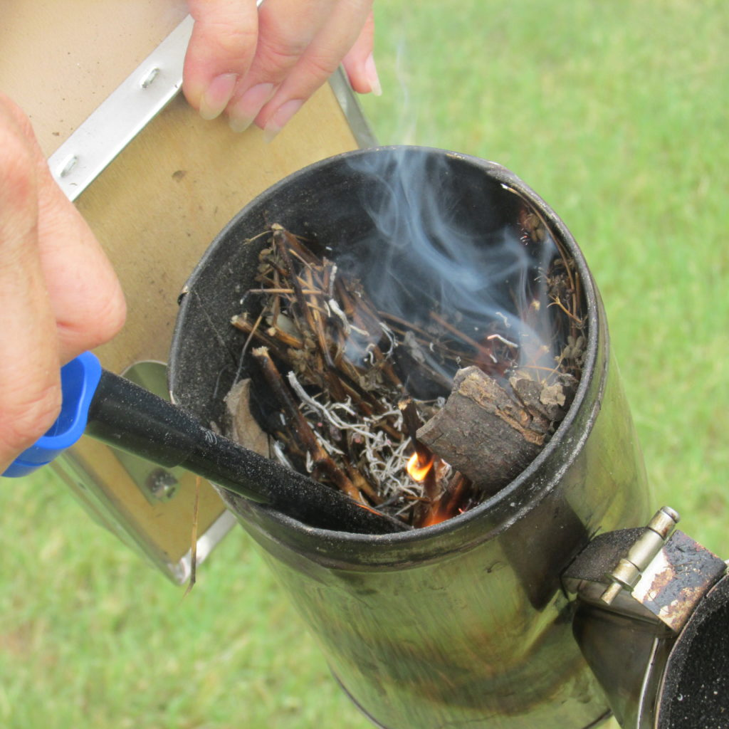 How to start the Bee Smoker and Keep it Going. | Bloom ...